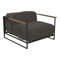 Casilda Outdoor Armchair Dark Gray