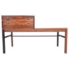 'Casino' Model Telephone Bench in Rosewood