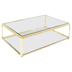 Casiopee Coffee Table in Gold Finish