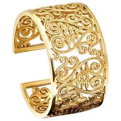 Cassandra Goad Florio Yellow 9 Karat Gold Cuff