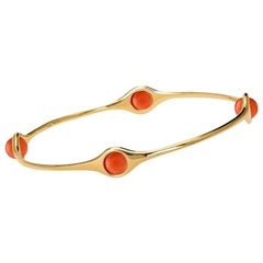 Cassandra Goad Persephone Gold and Coral Bangle