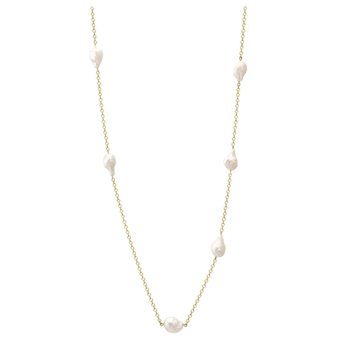 Cassandra Goad Polyphemus Baroque Pearl Necklace