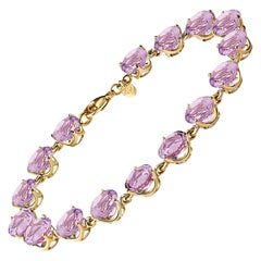 Cassandra Goad Riviere Amethyst Bracelet