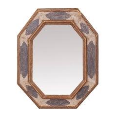 Cassetta Carved Wood Mirror
