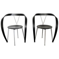 Cassina Andrea Branzi Revers Chairs, a Pair