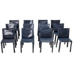 Cassina Blue CAB Chairs