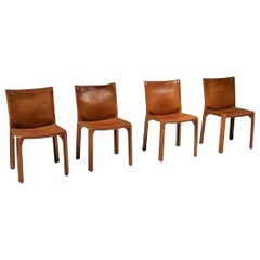 Cassina Cognac CAB Chairs