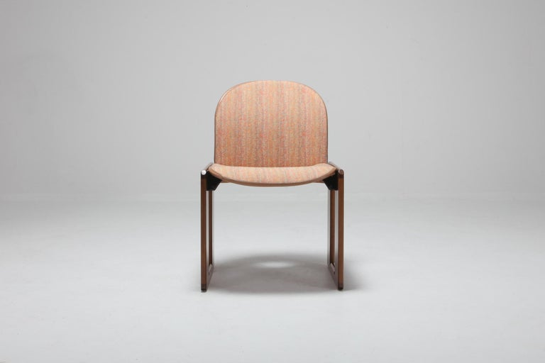 Afra & Tobia Scarpa chairs, Cassina, model 121, wood and walnut, Italy, 1965. 