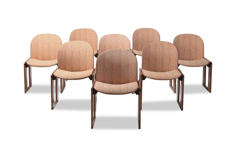 Cassina Dining Chairs Model 121 by Afra & Tobia Scarpa For Sale 2