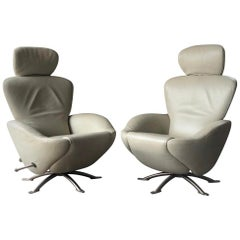Cassina Italy K10 Dodo Armchairs Lounge Chairs by Toshiyuki Kita