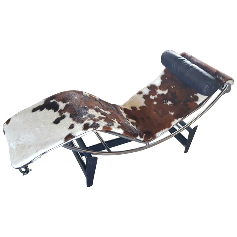 Cassina LC4 Chaise Lounge Numbered Early Edition For Sale
