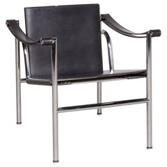 Cassina Le Corbusier LC 1 Designer Leather Armchair by Le Corbusier, Jeanneret