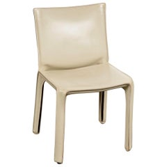 Cassina Leather 412 Cab Chair