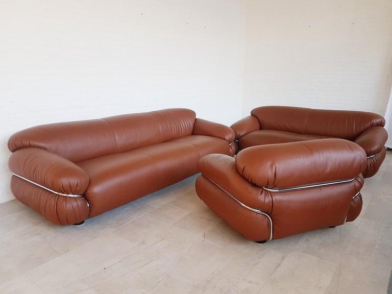 "Cassina Mid-Century Modern Sofa ""Sesann"" by Gianfranco ..."