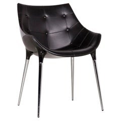 Cassina Passion Leather Armchair Black by Philippe Starck