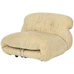 Cassina Tobia Scarpa Soriana Lounge Chair, Italy, 1970s