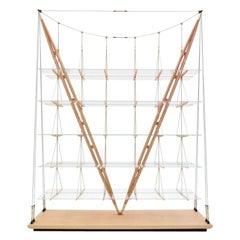 Cassina Veliero Bookcase in Ash by Franco Albini