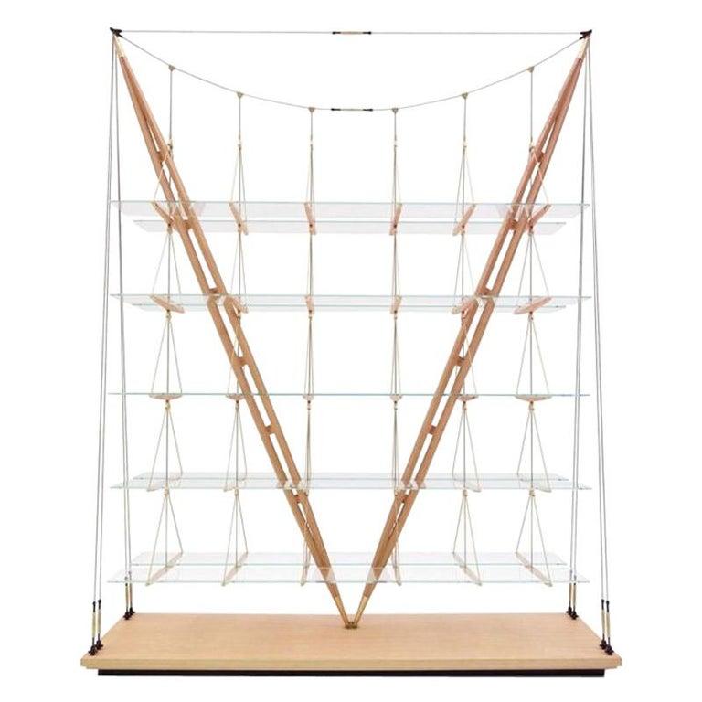 Cassina Veliero Bookcase in Ash by Franco Albini For Sale
