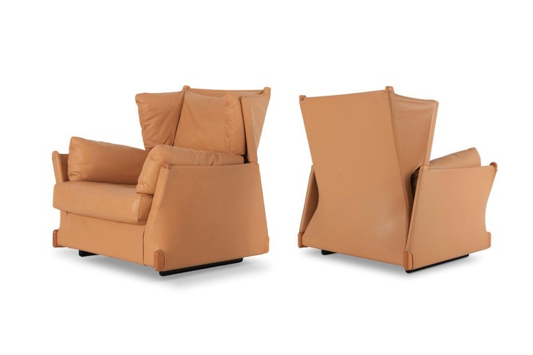 Cassina 'Viola d'amore' Armchairs by Piero Martini For Sale 5