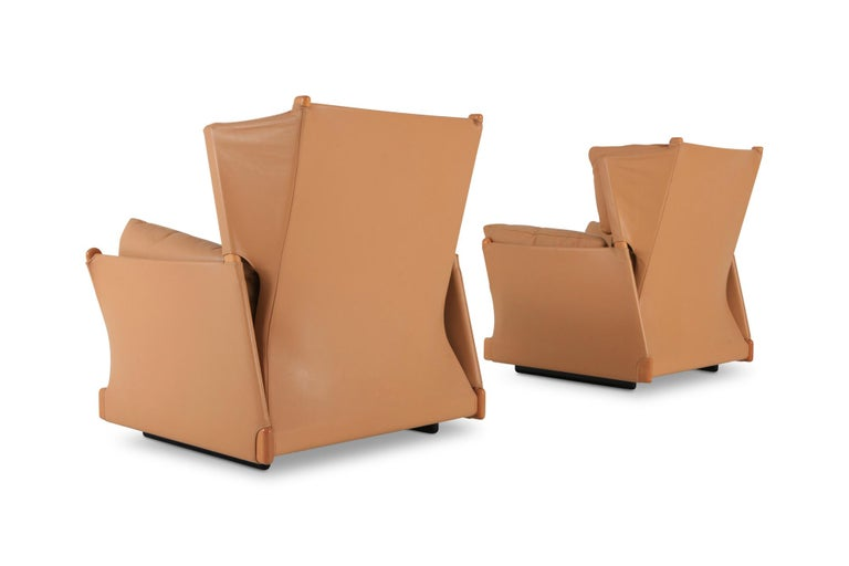 Italian Cassina 'Viola d'amore' Armchairs by Piero Martini For Sale