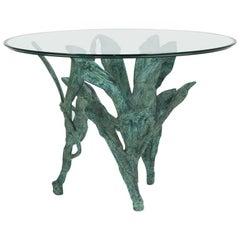 Cast Aluminium Sculptural Centre or Side Table, 1960s