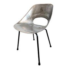 Cast Aluminum Chairs by Pierre Guariche