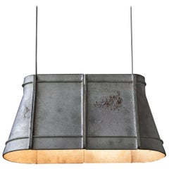 "Cast-aluminum Pendant Light, ""O zero,"" L by Buzao"