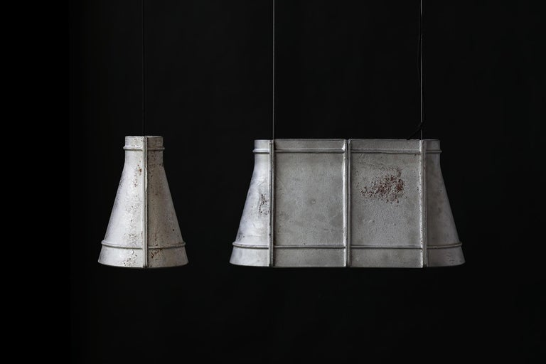 """Chinese Cast-aluminum Pendant Light, """"O zero,"""" M by Buzao For Sale"""