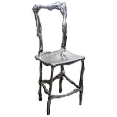 Cast Aluminum Scultura Decorative Chair