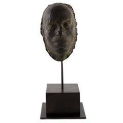 Cast Bronze Bust of Artist Mafai