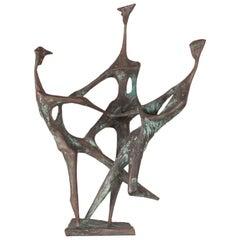 Cast Bronze by Ursula Hanke Forester Foundry N. Nook Berlin