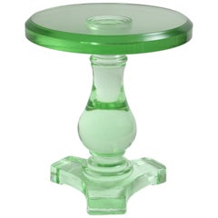 Cast Glass Table by Wicker Works