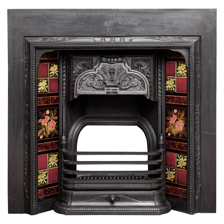 Cast Iron antique Cast Iron Fireplace