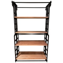 Cast Iron Bookcase or Room Divider