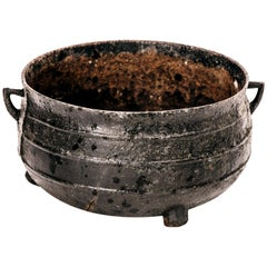 Cast Iron Bowl from Sweden, Early 1900s
