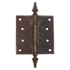 Cast Iron Butt Door Hinge Aesthetic Style Qty Available