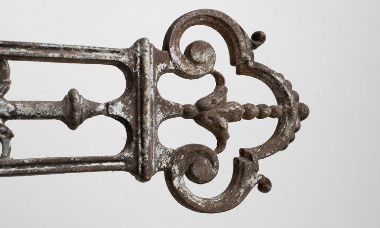 Cast Iron Crucifix In Good Condition For Sale In Culver City, CA