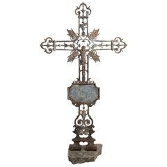 Cast Iron Crucifix