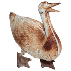 Cast Iron Duck, Early 20th Century
