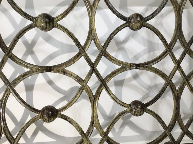 Cast Iron Fireplace Screen For Sale 5