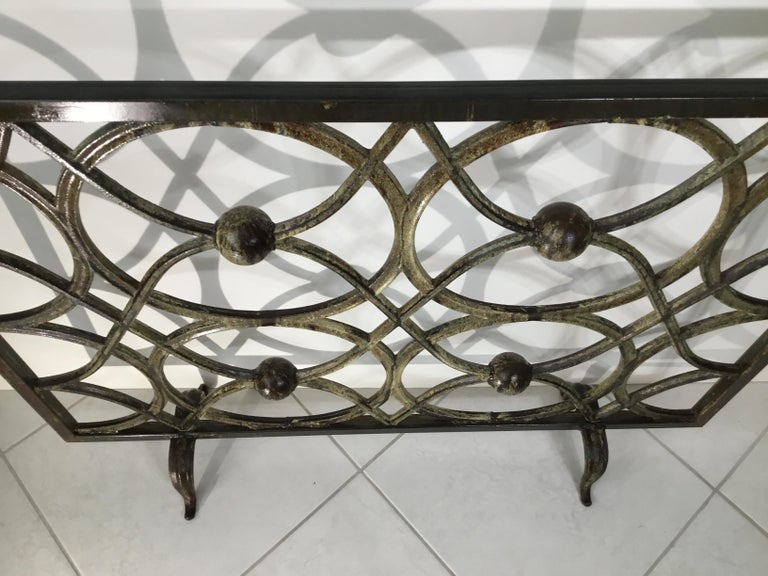 Cast Iron Fireplace Screen For Sale 7