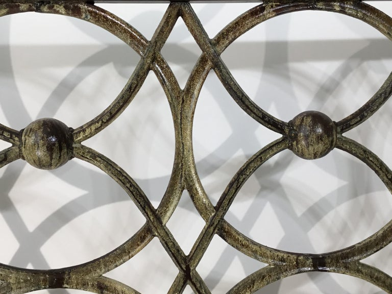Cast Iron Fireplace Screen For Sale 3