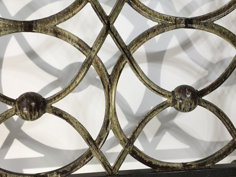 Cast Iron Fireplace Screen For Sale 4