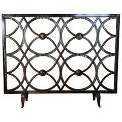 Cast Iron Fireplace Screen
