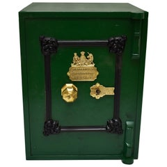 Cast Iron Floor Safe by E. Cotterill & Co., England, 1870