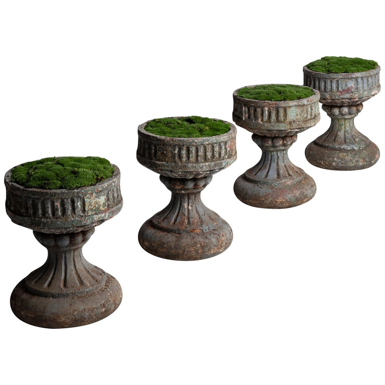 Cast Iron Garden Urns For Sale