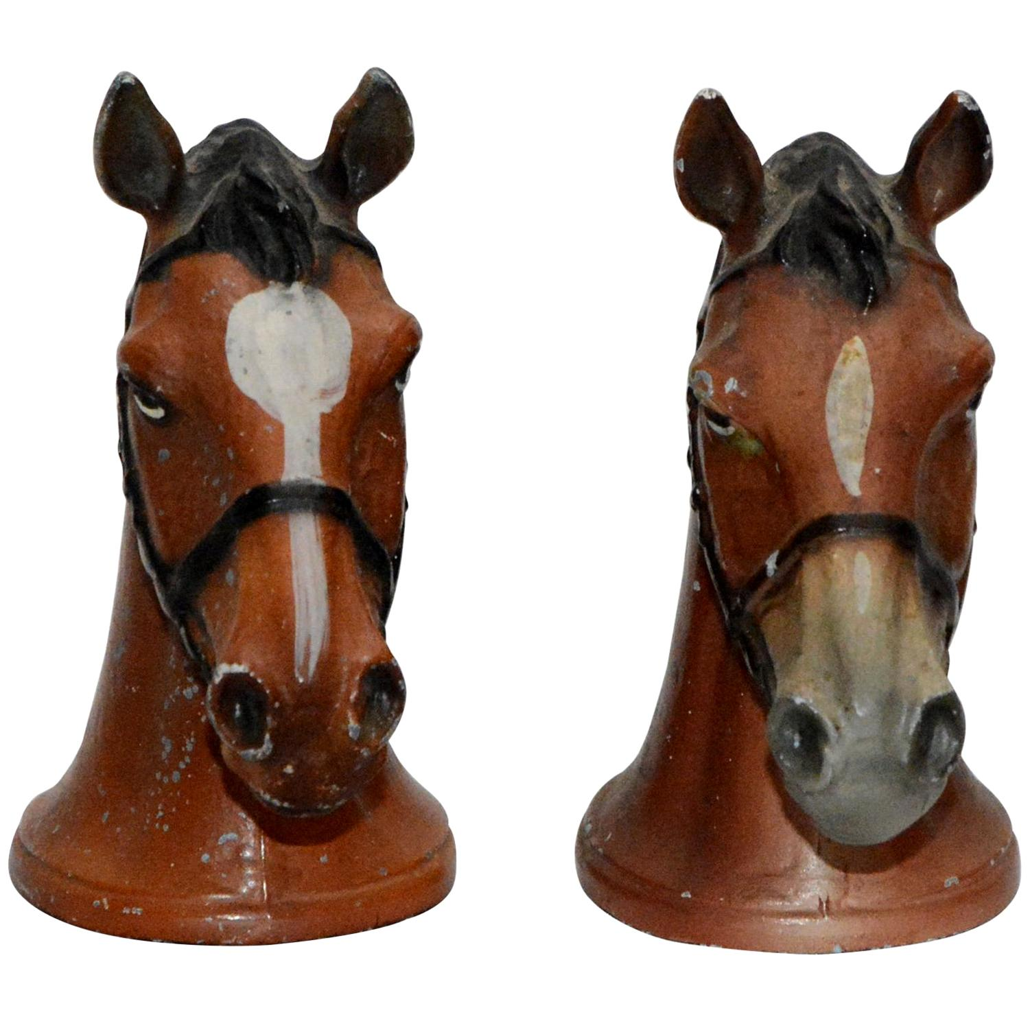 Cast Iron Horse Bottle Openers Pair, by Rubal