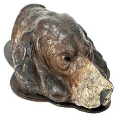Cast Iron Hound Dog Clip