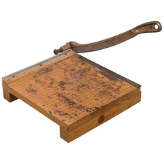Cast Iron Ingento No. 3 Paper Cutter, circa 1940