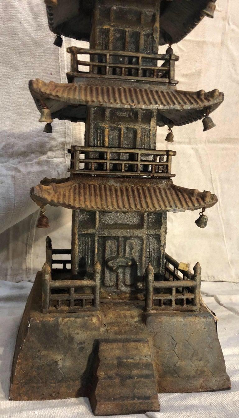 Cast Iron Pagoda For Sale 6